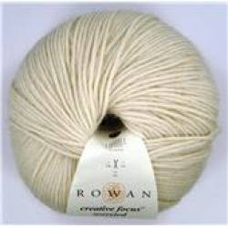 Rowan Creative Focus Worsted Yarn in Natural