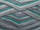 Stylecraft Aviemore 4 Ply Sock Knitting Yarn Green/Grey 1618