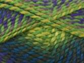 Stylecraft Harlequin Chunky Knitting Yarn Meadow/Viola 1621