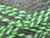 Stylecraft Swift Knit Stripes Super Chunky Knitting Yarn Green Glow 2058