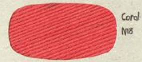 DMC Natura 'Just Cotton' Crochet Yarn Colour N18 Coral